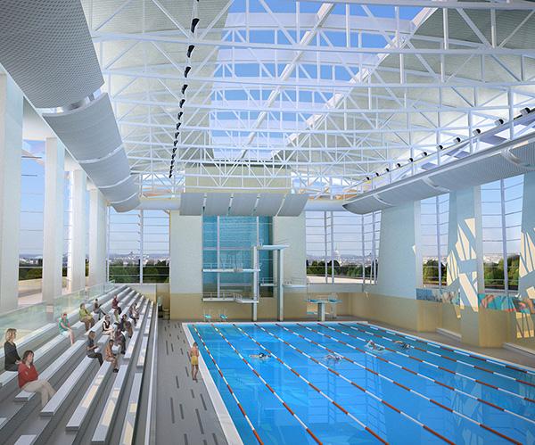 Long Bridge Aquatic and Fitness Center (Phase 2)