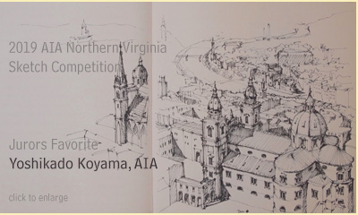 AIA Northern Virginia Sketch Competition